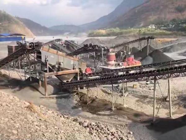 甘肃兰州破碎机生产线
