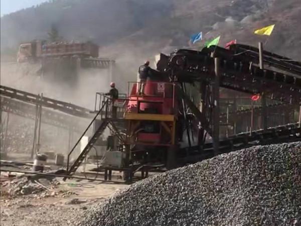 新疆乌鲁木齐圆锥破碎机生产线
