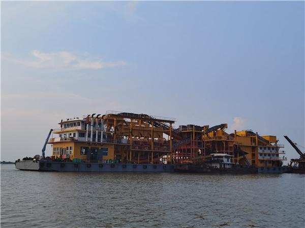 湖南船上生产线-VSI1263冲击式破碎机